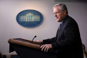 No new U.S.-China trade talks scheduled - White House chief of staff - Inside Financial Markets