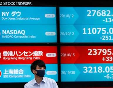 Asian shares, U.S. stock futures sag on coronavirus, U.S. election worries - Inside Financial Markets