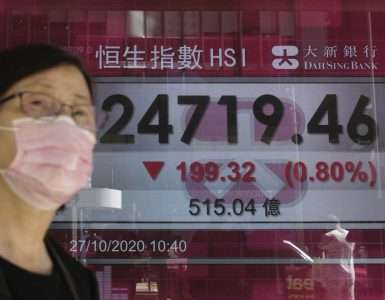 Asian shares slip as surging coronavirus cases weigh on global economy - Inside Financial Markets