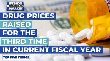 Drug Prices Raised 3rd time in Current FY | Top 5 Things | 21 Oct 2020 | Inside Financial Markets