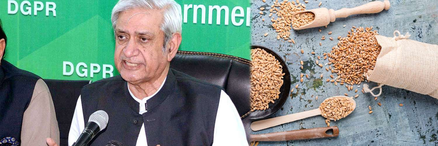 Fakhar highlights measures to overcome the wheat shortage - Inside Financial Markets