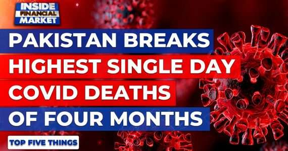 Pakistan exceeds highest COVID-19 death count | Top 5 Things | 24 Nov '20 | Inside Financial Markets