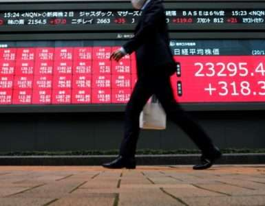 Asian stocks pare gains amid caution about bets on coronavirus vaccine - Inside Financial Markets