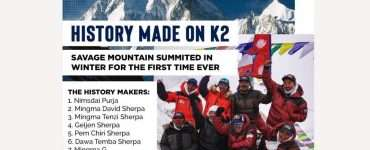 Pakistan felicitates Nepalese climbers on first winter K2 ascent - Inside Financial Markets