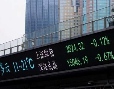 Asian shares up on China gains but tech worries weigh - Inside Financial Markets