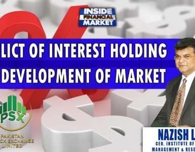 Conflict of Interest Holding Development of Market | Nazish Lutfi - ISMAR | Inside Financial Markets